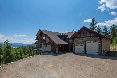 Sandpoint Single Family Home For Sale: 862 Eagleview Ln