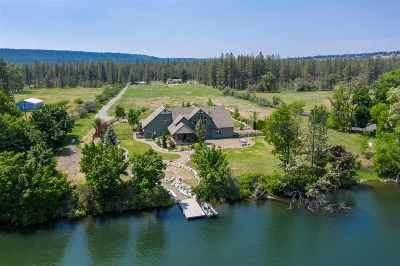 Nine Mile Falls WA Single Family Home Ctg-Inspection: $950,000