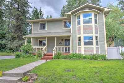 Coeur D Alene Single Family Home For Sale: 1401 E Ash Ave