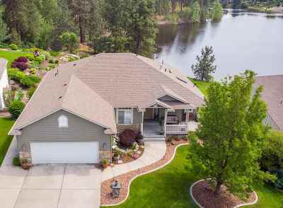 Spokane Valley Single Family Home For Sale: 321 S Shelley Lake Ln