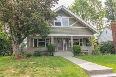 Spokane Single Family Home Bom: 3524 N Atlantic St