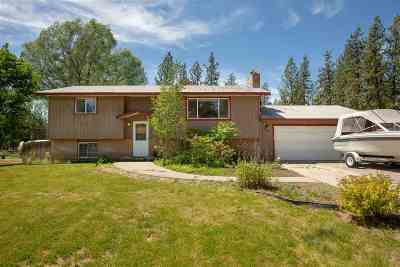 Nine Mile Falls WA Single Family Home Ctg-Inspection: $255,000