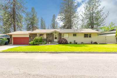 Spokane Single Family Home For Sale: 4219 W Arrowhead Rd