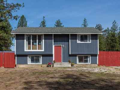 Nine Mile Falls WA Single Family Home Ctg-Inspection: $229,900