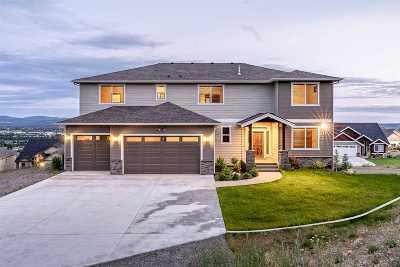 Spokane Single Family Home New: 8706 E Woodside Ln