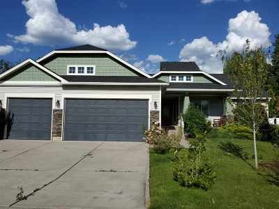 Spokane Single Family Home New: 8913 E Vista Park Dr