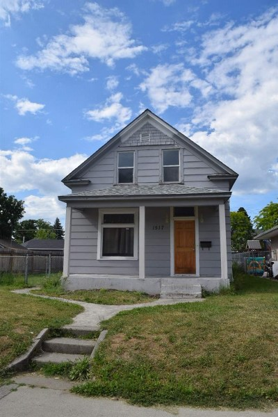 Spokane Single Family Home New: 1517 E Bridgeport Ave