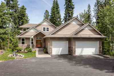 Coeur D Alene Single Family Home For Sale: 8895 W Riverview Dr