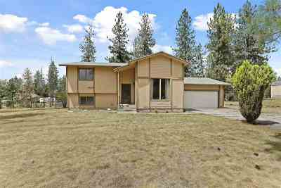 Nine Mile Falls Single Family Home Ctg-Sale Buyers Hm: 16818 N Columbine Ct
