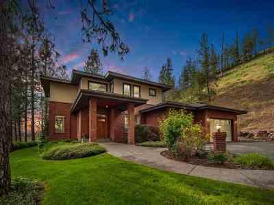 Spokane WA Single Family Home For Sale: $1,285,000