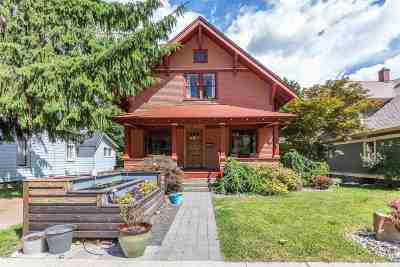 spokane Single Family Home New: 1217 E 13th Ave