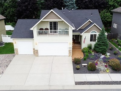 spokane Single Family Home New: 2408 W Walker Ct