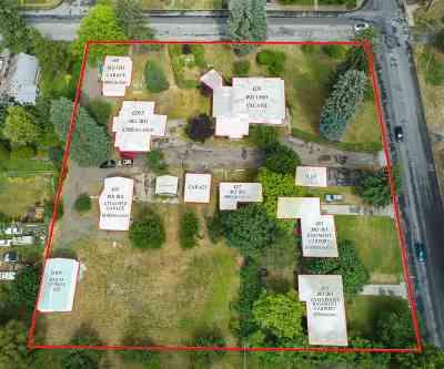 Spokane Single Family Home For Sale: 4235 E Hartson Ave #7 Proper