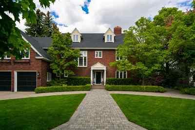 Spokane WA Single Family Home For Sale: $2,199,000