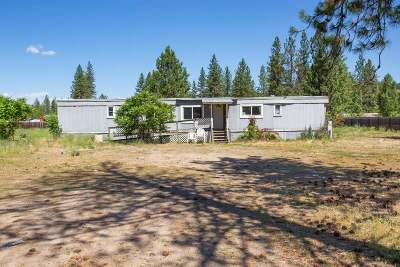 Nine Mile Falls Mobile Home For Sale: 6408 Lakeview Dr
