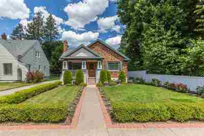 Spokane Single Family Home For Sale: 304 W 18th Ave
