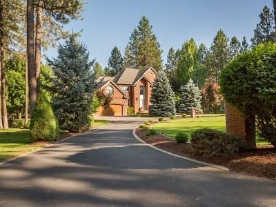 Spokane WA Single Family Home For Sale: $1,085,000