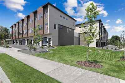 Spokane County Condo/Townhouse For Sale: 845 E Hartson St #845
