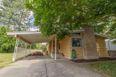 Spokane Single Family Home For Sale: 3310 W Decatur Ave