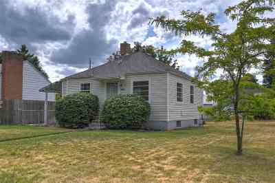 Spokane Single Family Home For Sale: 5427 N Whitehouse St
