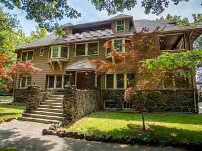 Spokane WA Single Family Home For Sale: $1,150,000