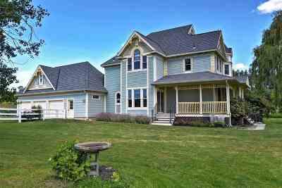 Spokane County Single Family Home For Sale: 5410 S Chapman Rd