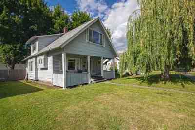 Spokane Single Family Home For Sale: 634 W Providence Ave