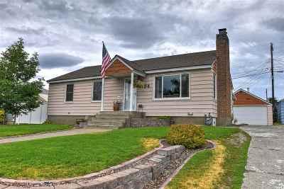 Spokane Single Family Home Chg Price: 2734 W Longfellow Ave