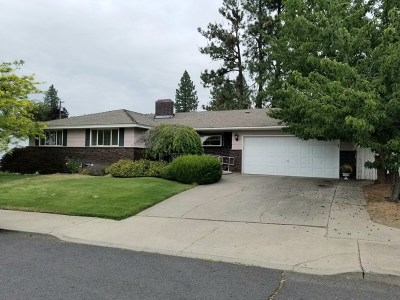 spokane Single Family Home New: 7232 N Pamela St