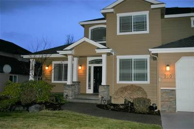 Spokane Valley Single Family Home New: 910 S Shelley Lake Ln