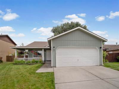 Spokane Valley Single Family Home New: 1618 N Holiday Ln