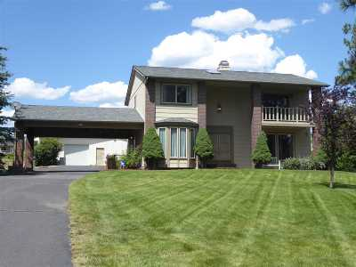 Spokane, Spokane Valley Single Family Home For Sale: 1125 E Farwell Rd