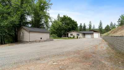 spokane Single Family Home New: 5880 E Bigelow Gulch Rd
