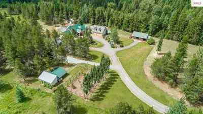 Sandpoint Single Family Home For Sale: 3688 Wrenco Loop Rd