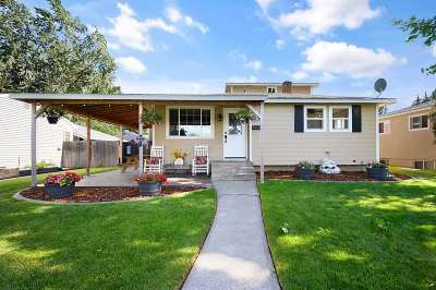 Spokane WA Single Family Home Active/No Show: $259,900