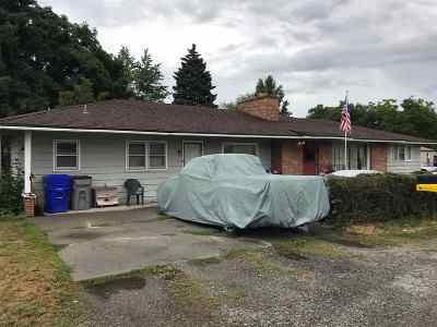 Spokane Valley Multi Family Home For Sale: 8105 E Indiana Ave