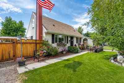 Spokane Valley Single Family Home For Sale: 8028 E Augusta Ave