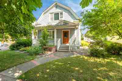 Spokane Single Family Home For Sale: 1618 W Dean Ave