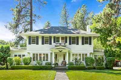 Spokane Single Family Home For Sale: 2826 S Manito Blvd