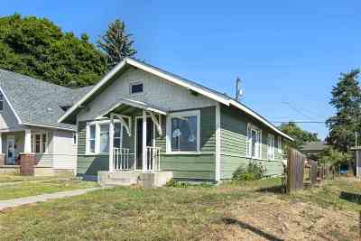 Spokane Single Family Home For Sale: 1521 E Ostrander Ave