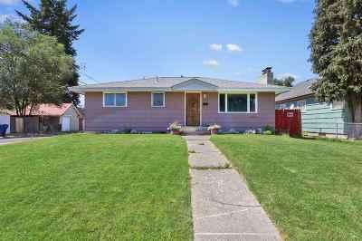 Spokane Single Family Home Bom: 3103 N Jefferson St