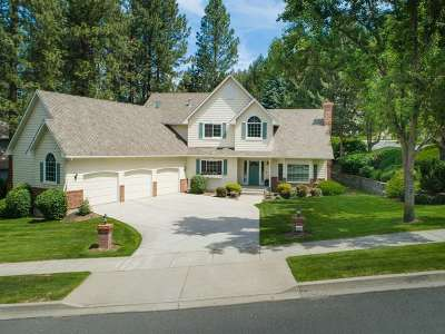 Spokane Single Family Home For Sale: 6621 S Westchester Dr