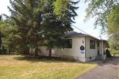 Spokane Valley Single Family Home For Sale: 8803 E Valleyway Ave