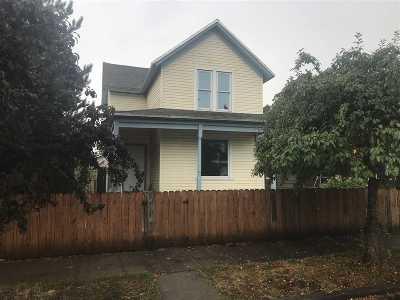 Spokane Single Family Home For Sale: 2325 W Dean St