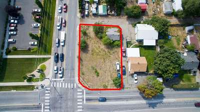 Spokane Valley Residential Lots & Land For Sale: 805 N Park Rd