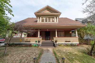 Spokane Single Family Home For Sale: 1428 N Lincoln St