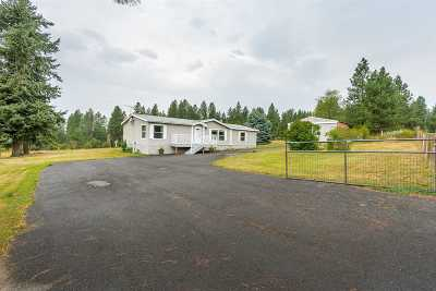 Colbert Mobile Home For Sale: 17911 N Hardesty Rd