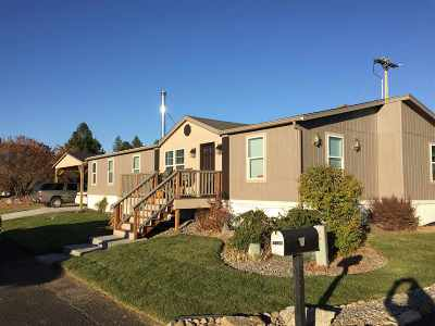 Mead Mobile Home For Sale: 14618 N Sharpsburg Ln