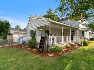 Spokane Single Family Home New: 8020 E Liberty Ave