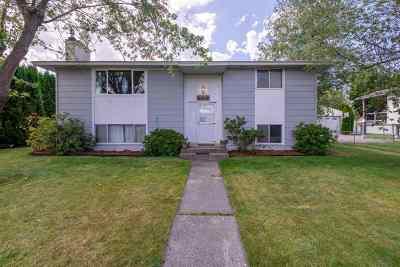 Veradale Single Family Home For Sale: 1222 S Progress Rd
